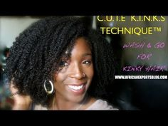 Achieving Your Perfect Wash And Go