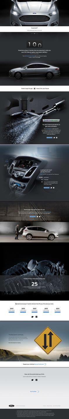 Ford microsite... nice