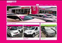 Sito web per Garage Cadei, Mendrisio, Svizzera