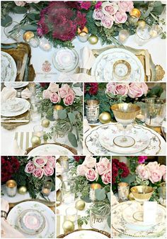 Tips for setting a magical, romantic French Country holiday table that you and your guests will enjoy.