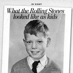 This is what the Rolling Stones looked like as little boys - The Washington Post