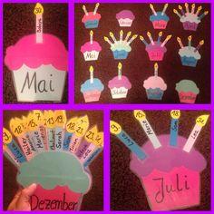 Geburtstagskalender für den Klassenraum