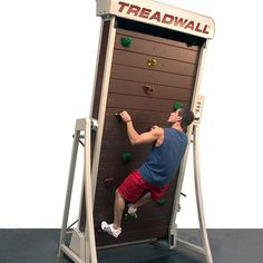 The Treadwall M Series is a whole new Treadwall training platform utilizing revolutionary new technology based on engineering proven over 16 years. The M4 Pro is designed to be more compact, more affordable, and with a small footprint it fits anywhere. Perfect for adults, kids and training. The M4 makes the activity of climbing and easy, fun and smart choice for any facility or home.