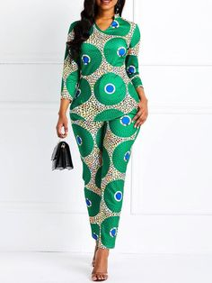 Belt Fashion Full Length Slim High Waist Jumpsuit Model: Slim Material: Polyester Thickness: Thin Length: Full Length Trousers Shape: Straight Waist Line: High Waist Elasticity: High Elasticity With Belt: No Pattern: Plain Embellishment: African Fashion Ankara, Latest African Fashion Dresses, African Dresses For Women, African Print Dresses, African Print Fashion, African Attire, African Clothes, African Suits, African Dashiki