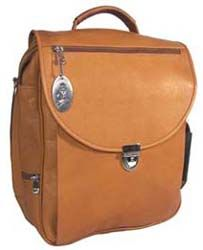 Cape Cod Leather Nantucket Bag - my new favorite for travel/work
