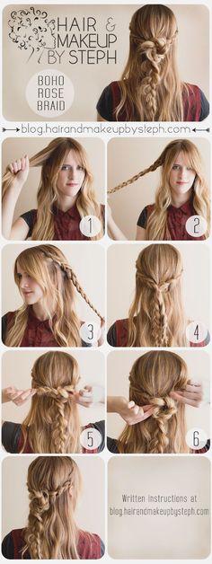 Top 13 Hair Braid Tutorials #hair #hairdo #hairstyles #hairstylesforlonghair #hairtips #tutorial #DIY #stepbystep #longhair #howto #practical #guide #everydayhairstyle #easyhairstyle #idea #inspiration #style
