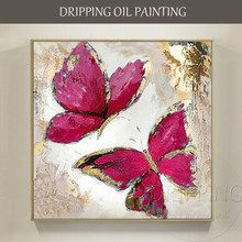 Pure Hand-painted Wall Picture Abstract Butterfly with Gold Foil Painting on Canvas Modern Wall Picture Butterfly Oil Painting Easy Canvas Painting, Diy Canvas Art, Oil Painting Abstract, Abstract Canvas, Paintings On Canvas, Canvas Painting Designs, Watercolor Artists, Oil Paintings, Painting Art