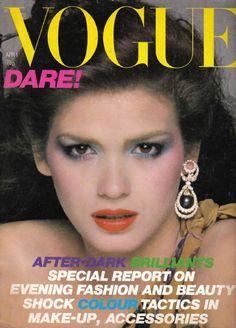 Gia Carangi - Vogue Magazine [United Kingdom] (April 1979)