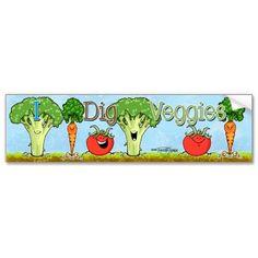 I really do dig veggies !!