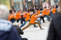 Kuk Sool Won on Livingston treat shoppers to 'Fightback' Flashmob to help beat MS by MS Society Scotland, via Flickr