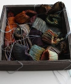 beautiful natural dyeing