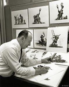 Remembering Disney Legends � Marc Davis