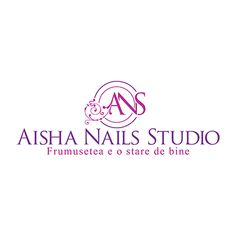 Design logo studio manichiura pedichiura Aisha Nails Studio, realizat de logo1.ro #logobeautysalon #logosalonmanichiura Web Design Logo, Nail Studio, Beauty Logo, Corporate Identity, Branding, Logos, Nails, Finger Nails, Brand Management