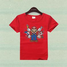 Boy clothes cotton cute cartoon t-shirt super mario brother short sleeve children shirts boys clothing girls t-shirt kids tees SMS - F A S H I O N http://www.sms.hr/products/boy-clothes-cotton-cute-cartoon-t-shirt-super-mario-brother-short-sleeve-children-shirts-boys-clothing-girls-t-shirt-kids-tees/ US $4.06