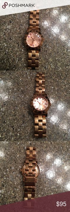 Marc by Marc Jacobs rose gold watch In good condition. Rose gold Marc by Marc Jacobs watch Marc by Marc Jacobs Accessories Watches