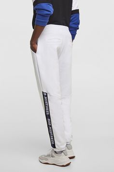 buy online 30cfb 1a0ac Image 3 of JOGGING TROUSERS WITH SIDETAPING from Zara Street Style,  Joggers, Zara,
