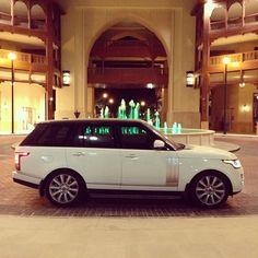 Next car! White Range Rover <3 <3