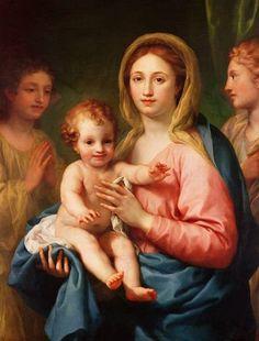 Anton Raphael Mengs: Virgin and Child