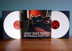 Great musician and collectible white vinyl!