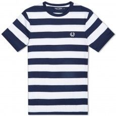 Fred Perry Striped Sports Tee
