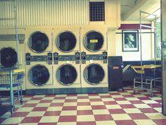 Vintage Laundromat.