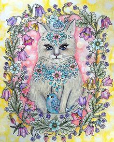 #mariatrolle #blomstermandala #twilightgarden #twilightgardencoloringbook #сумеречныйсад #раскраски #wonderfulcoloring #topcoloridos #bayan_boyan #coloringbook #coloringbookforadult #divasdasartes Adult Coloring, Coloring Books, Coloring Pages, Color Blending, Prismacolor, Art Pages, Color Inspiration, Twilight, Mandala