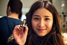 #LEBLOX #BastilleVillage #MilanLunetier #LivingRoomParis #3dprinting #pixelart  Lena