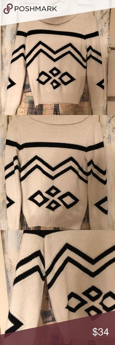 Ralph Lauren Aztec Sweater Women's Ralph Lauren Aztec turtleneck. Great for the cold winter months! Good condition! Lauren Ralph Lauren Sweaters