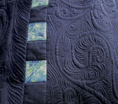 karen mctavish - machine quilts - but is the inspiration for much of my hand quilting designs