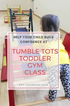 Help build confidence at Tumble Tots toddler gym class