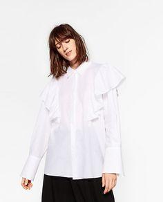 Image 2 de CHEMISIER XL À VOLANTS de Zara