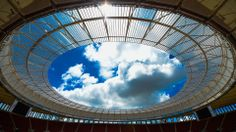 BRASILIA, BRAZIL - FEBRUARY 17: General view of the National Mane Garrincha Stadium during the 2014 FIFA World Cup Host City Tour on February 17, 2014 in Brasilia, Brazil. (Photo by Buda Mendes - FIFA/FIFA via Getty Images)
