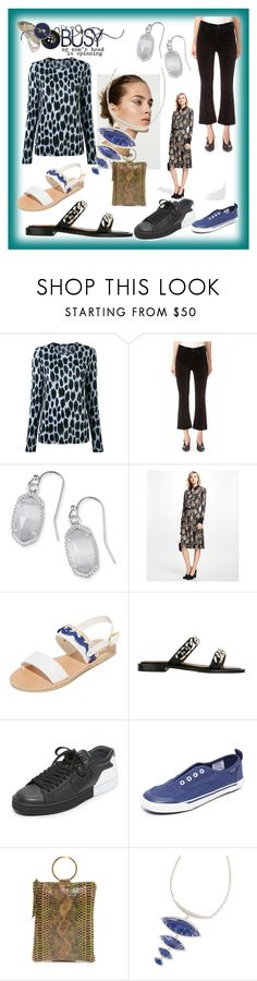 """""""Glam up your Lifestyle"""" by mkrish ❤ liked on Polyvore featuring Proenza Schouler, Citizens of Humanity, Kendra Scott, Brooks Brothers, Ancient Greek Sandals, Givenchy, Kenzo, Sperry and Oliveve"""