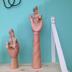 Houten hand - 38cm