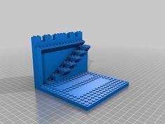 Modular Castle Kit - Lego compatible V2 by danielkschneider - Thingiverse