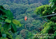 Canopy TourSky Adventures / www.skyadventures.travel