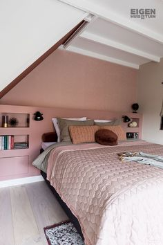 Cheap Closet: Meet 10 Tips and 60 Creative Ideas to Decorate - Home Fashion Trend Bedroom Colors, Home Decor Bedroom, Master Bedroom, Bedroom Ideas, Attic Bedrooms, Pink Bedrooms, Design Your Home, Cheap Home Decor, Home Fashion