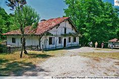 Maison du meunier (Écomusée de Marquèze - Landes, Aquitaine)