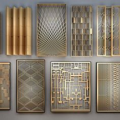 New Chinese Style Screen Partition 11113 Model available on CGmodelX, High quality Produced by Design Connected. Decorative Metal Screen, Decorative Panels, Wall Panel Design, 3d Wall Panels, Room Partition Designs, Wall Partition, Stainless Steel Screen, Window Grill Design, 3d Models