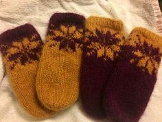 Ravelry: Februarvotter / Februar / February pattern by MaBe Norwegian Knitting, Knitting Socks, Ravelry, Knitting Patterns, Knit Crochet, Gloves, February, Crafts, English