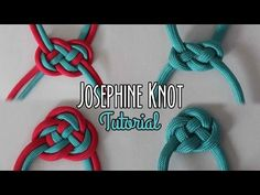 Josephine Knot Tutorial, My Crafts and DIY Projects