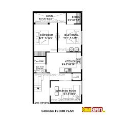 House Plan for 28 Feet by 32 Feet plot Plot Size 100 Square Yards