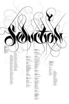 Michael Bierut  #typography  #calligraphy  #handlettering