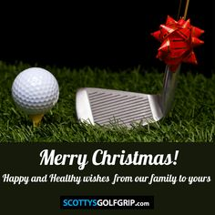 Learn the amazing Scotty Robertson Golf Grip Golf Ball, Golf Clubs, Wish, Merry Christmas, Learning, Healthy, Happy, Merry Little Christmas, Studying
