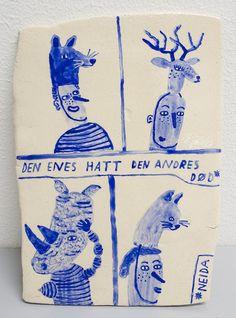 Ceramics by Kjersti Johanne Barli.