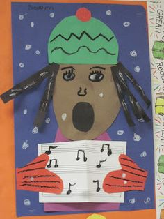 Lines, Dots, and Doodles: Carolers, 1st Grade