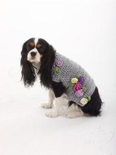 Crochet Dog Sweater: free pattern