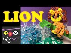 Rainbow Loom Pencil Hugger: Lion or Cat (+playlist) Sooo cute! Rainbow Loom Animals, Rainbow Loom Patterns, Rainbow Loom Creations, Rainbow Loom Bands, Rainbow Loom Charms, Rainbow Loom Bracelets, Loom Love, Fun Loom, Rubber Band Crafts