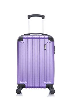 Carry-on Luggage Collections | TravelCross Columbia Carry On Lightweight Hardshell Spinner Luggage  Purple *** Check out the image by visiting the link.(It is Amazon affiliate link) #cute