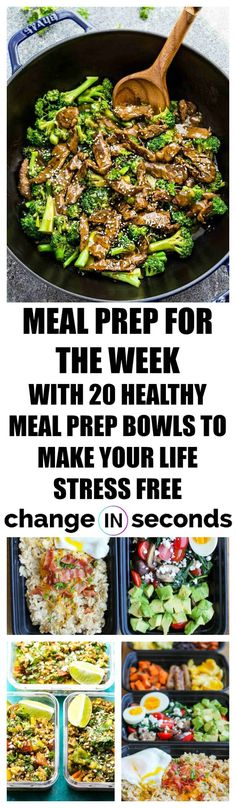 Weight Loss Plans Military Meal Prep For The Week With 20 Healthy Meal Prep Bowls To Make Your Life Stress Free! Loss Plans Military Meal Prep For The Week With 20 Healthy Meal Prep Bowls To Make Your Life Stress Free! Meal Prep Bowls, Easy Meal Prep, Healthy Meal Prep, Healthy Snacks, Easy Meals, Healthy Meals For Dinner, Clean Eating Recipes, Clean Eating Snacks, Diet Recipes